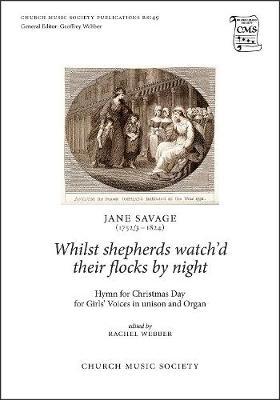 Whilst shepherds watch'd their flocks by night - Church Music Society (Sheet music)