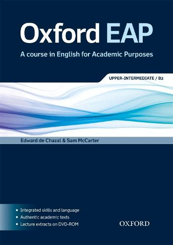 Oxford EAP: Upper-Intermediate/B2: Student's Book and DVD-ROM Pack - Oxford EAP