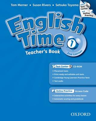 English Time: 1: Teacher's Book with Test Center and Online Practice - English Time