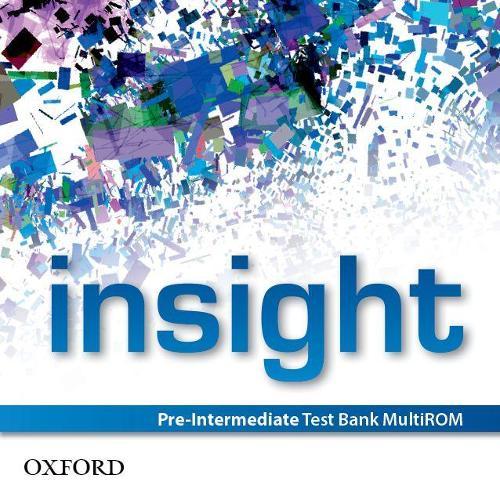 Insight Pre Intermediate Test Bank Multi-ROM: insight: Pre-Intermediate: Test Bank MultiROM Pre-Intermediate - insight (CD-ROM)