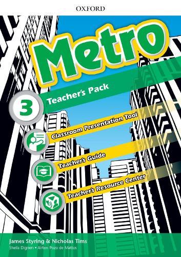 Metro: Level 3: Teacher's Pack: Where will Metro take you? - Metro