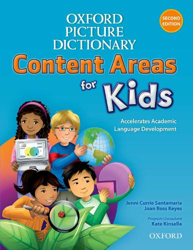 Oxford Picture Dictionary Content Areas for Kids: English Dictionary - Oxford Picture Dictionary Content Areas for Kids (Paperback)
