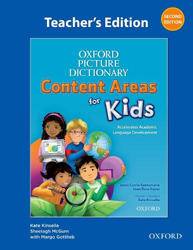 Oxford Picture Dictionary Content Areas for Kids: Teacher's Edition - Oxford Picture Dictionary Content Areas for Kids (Spiral bound)