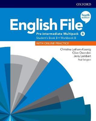 English File: Pre-Intermediate: Student's Book/Workbook Multi-Pack B - English File