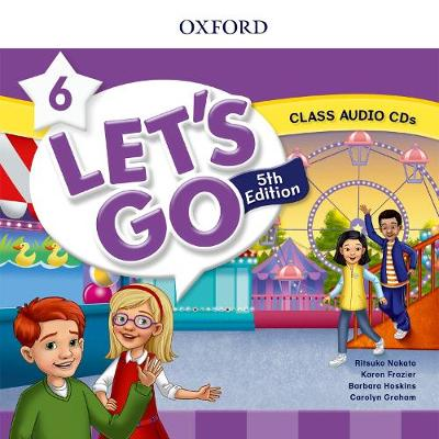 Let's Go: Level 6: Class Audio CDs - Let's Go (CD-Audio)
