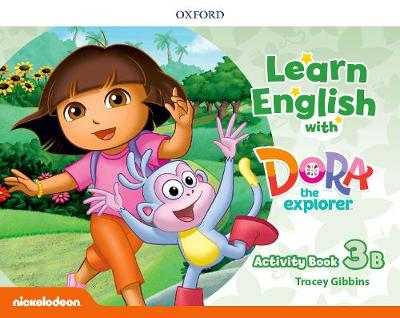 Learn English with Dora the Explorer: Level 3: Activity Book B - Learn English with Dora the Explorer (Paperback)