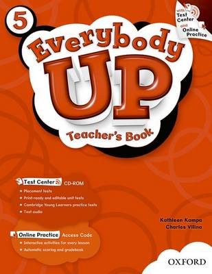Everybody Up: 5: Teacher's Book with Test Center CD-ROM - Everybody Up