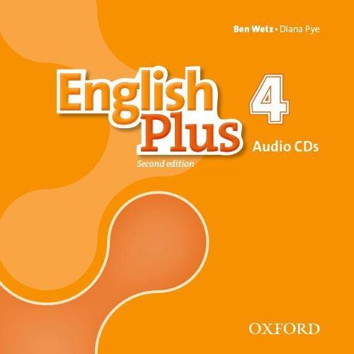English Plus: Level 4: Class Audio CDs - English Plus (CD-Audio)
