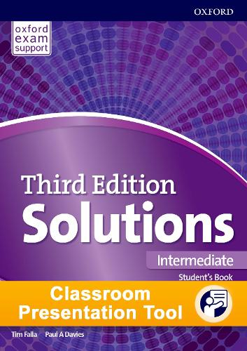 Solutions 3e Intermediate Students Book & Workbook Cpt Access Card Pack