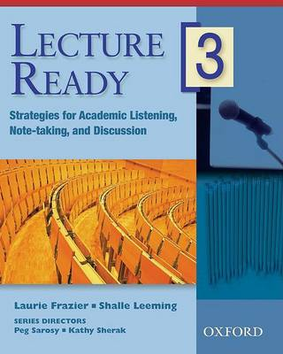 Lecture Ready 3: Student Book - Lecture Ready 3 (Paperback)