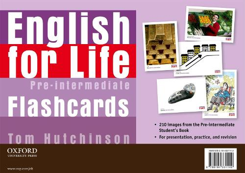 English for Life: Pre-intermediate: Flashcards - English for Life