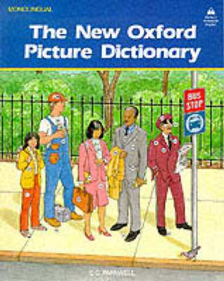The New Oxford Picture Dictionary: Monolingual Edition (Paperback)