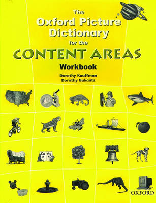 The Oxford Picture Dictionary for the Content Areas: Workbook - The Oxford Picture Dictionary for the Content Areas (Paperback)