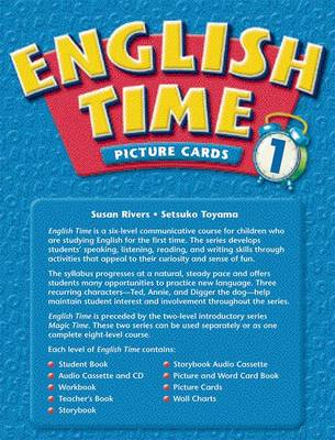 English Time: Picture and Word Card Book Level 1 (Paperback)