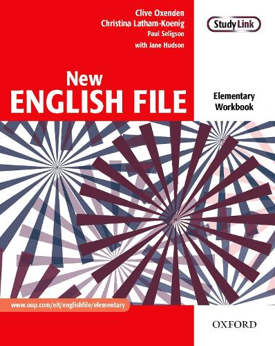New English File: Elementary: Workbook: Six-level general English course for adults - New English File (Paperback)