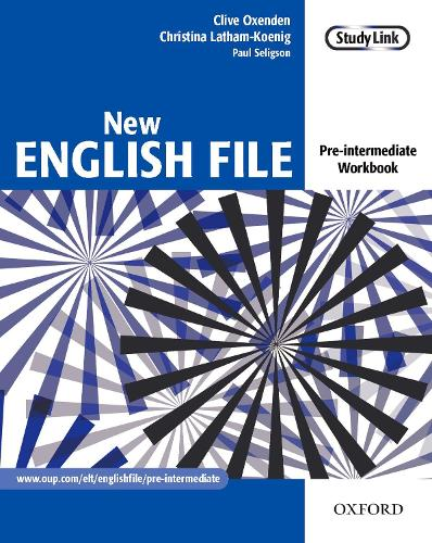 New English File: Pre-intermediate: Workbook: Six-level general English course for adults - New English File (Paperback)