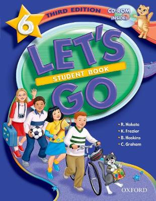 Let's Go: 6: Student Book with CD-ROM Pack - Let's Go