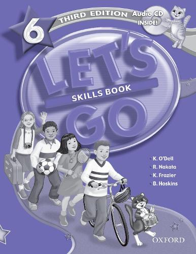 Let's Go: 6: Skills Book with Audio CD Pack - Let's Go