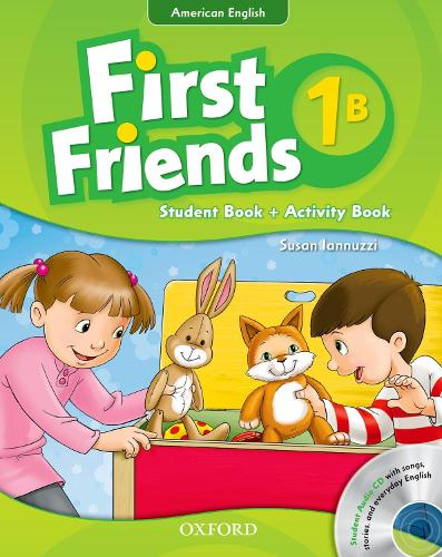 First Friends (American English): 1: Student Book/Workbook B and Audio CD Pack: First for American English, first for fun! - First Friends (American English)