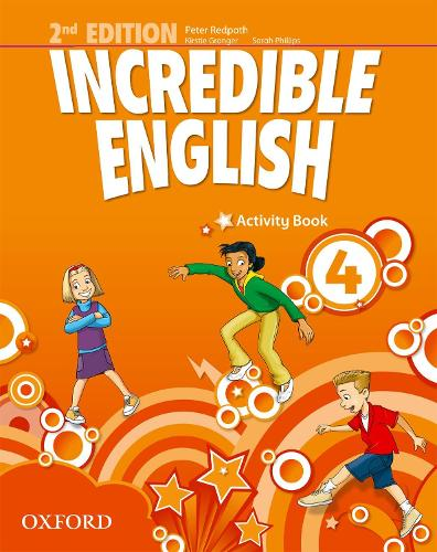 Incredible English: 4: Activity Book - Incredible English (Paperback)