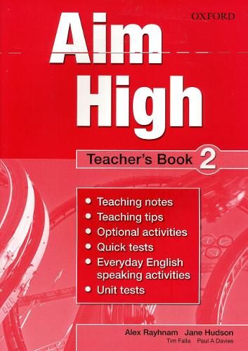 Aim High Level 2 Teacher's Book: A new secondary course which helps students become successful, independent language learners (Paperback)