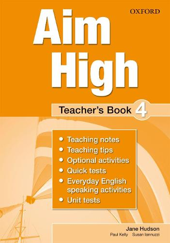 Aim High: Level 4: Teacher's Book: A new secondary course which helps students become successful, independent language learners - Aim High (Paperback)