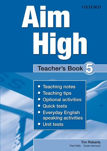 Aim High Level 5 Teacher's Book: A new secondary course which helps students become successful, independent language learners (Paperback)
