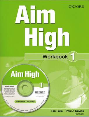 Aim High Level 1 Workbook & CD-ROM: A new secondary course which helps students become successful, independent language learners