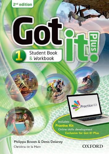 Got it! Plus: Level 1: Student Pack: Get it all with Got it! 2nd edition! - Got it! Plus