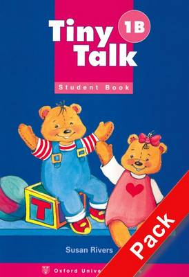 Tiny Talk 1: Pack (B) (Student Book and Audio CD) - Tiny Talk 1
