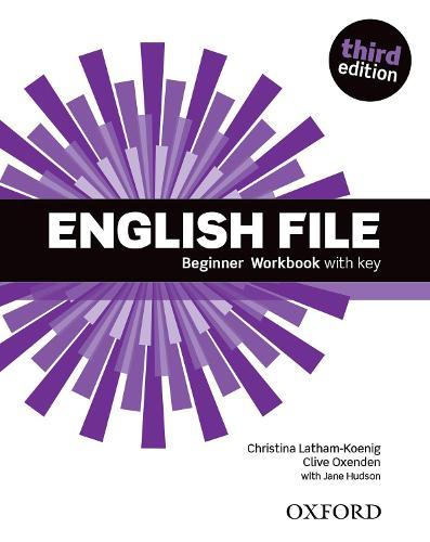 English File: Beginner: Workbook with key - English File (Paperback)