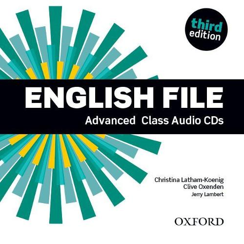 English File: Advanced: Class DVD: The best way to get your students talking - English File (CD-Audio)