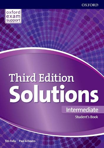 Solutions: Intermediate: Student's Book: Leading the way to success - Solutions (Paperback)