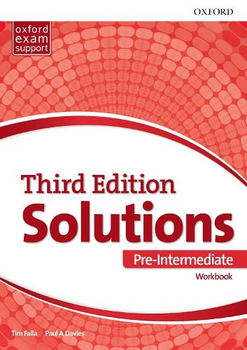 Solutions: Pre-Intermediate: Workbook: Leading the way to success - Solutions (Paperback)