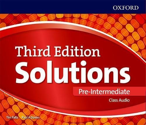 Solutions: Pre-Intermediate: Class Audio CDs - Solutions (CD-Audio)