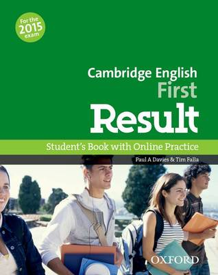 Cambridge English First Result: Student's Book - Cambridge English First Result (Paperback)