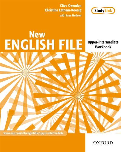 New English File: Upper-Intermediate: Workbook: Six-level general English course for adults - New English File (Paperback)