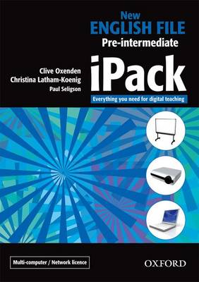 New English File: IPack Multiple-computer/Network Pre-intermediate level: Digital Resources for Interactive Teaching (CD-ROM)