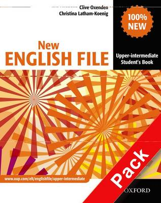 New English File: Upper-Intermediate: MultiPACK B: Six-level general English course for adults - New English File