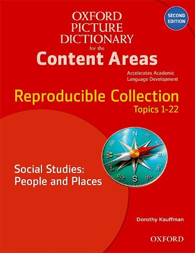 Oxford Picture Dictionary for the Content Areas: Reproducible Social Studies: People and Places - Oxford Picture Dictionary for the Content Areas (Paperback)