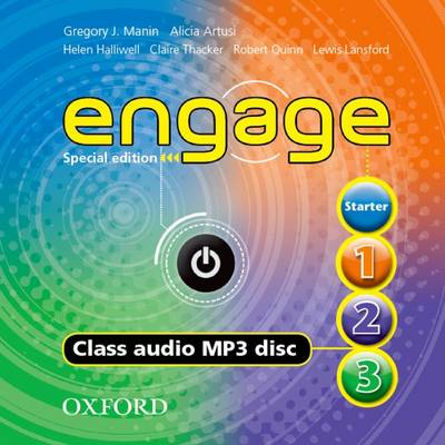 Engage Special Edition All Levels Class Audio CD (1 Disc) (American English) (CD-Audio)