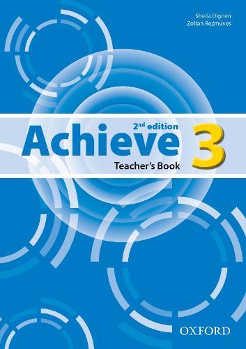 Achieve: Level 3: Teacher's Book - Achieve (Paperback)