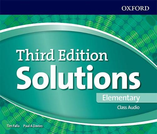 Solutions: Elementary: Class Audio CDs - Solutions (CD-Audio)