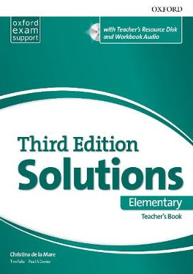 Solutions: Elementary: Essentials Teacher's Book and Resource Disc Pack - Solutions