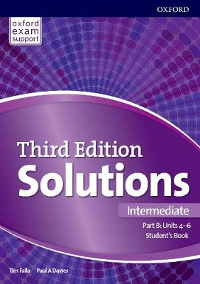 Solutions: Intermediate: Student's Book B Units 4-6: Leading the way to success - Solutions (Paperback)