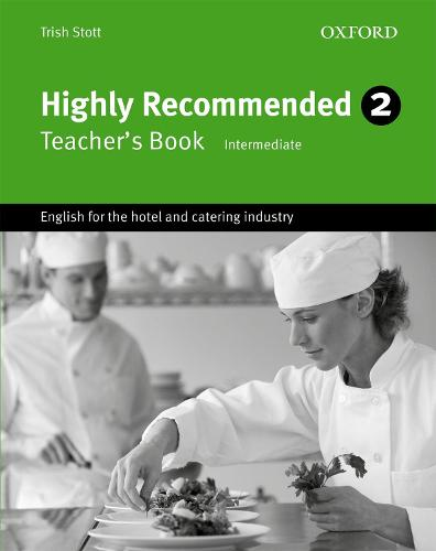 Highly Recommended 2: Teacher's Book - Highly Recommended 2 (Paperback)