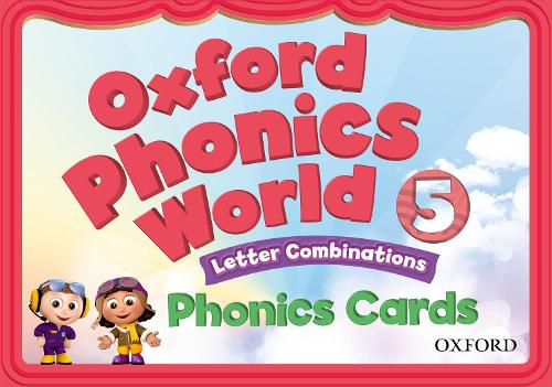Oxford Phonics World: Level 5: Phonics Cards - Oxford Phonics World