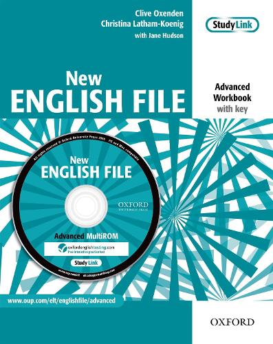 New English File: Advanced: Workbook with MultiROM Pack: Six-level general English course for adults - New English File