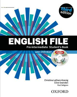 English File 3e Pre Intermediate Student Book & Itutor Pack