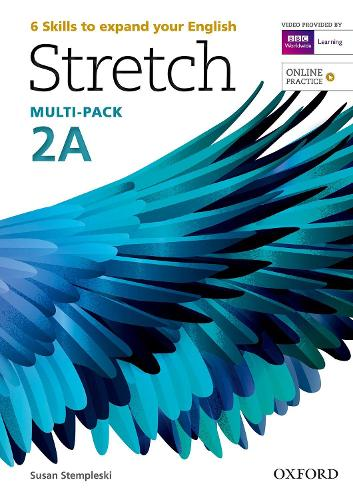 Stretch: Level 2: Student's Book & Workbook Multi-Pack A with Online Practice - Stretch